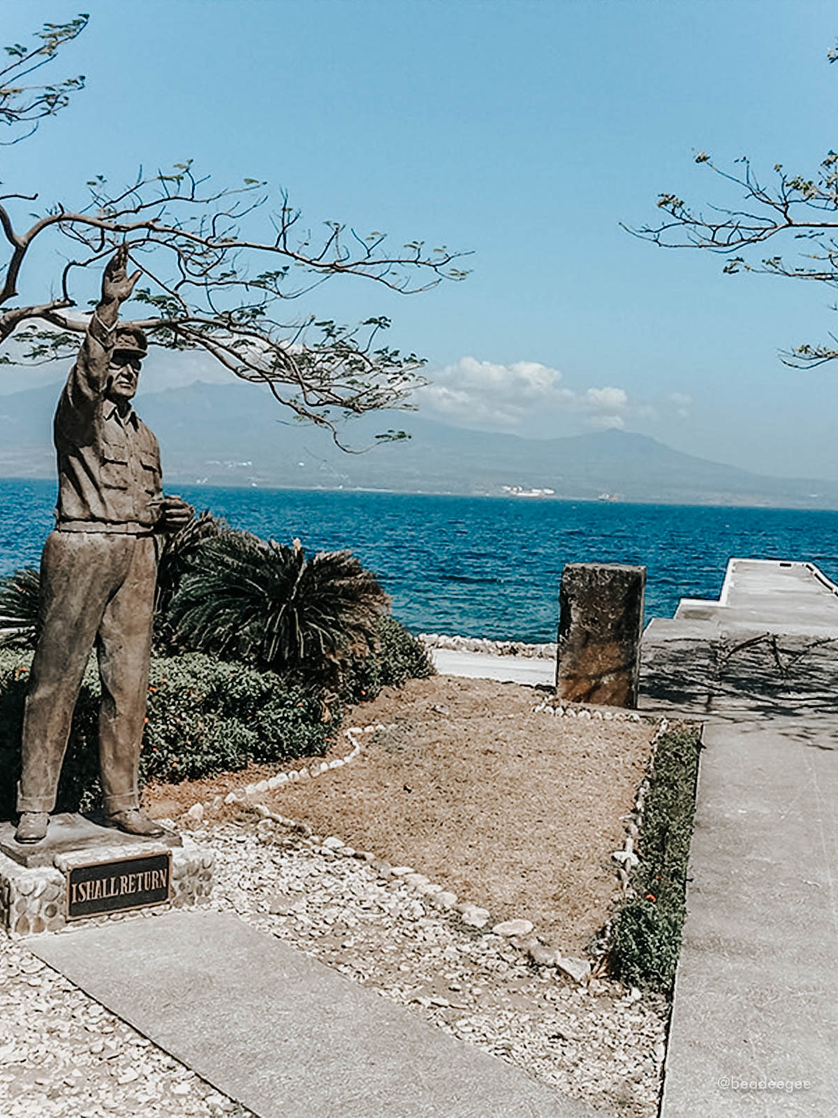 Mac Arthur Statue in Corregidor Island Philippines